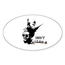 NY Afrolicious Oval Decal