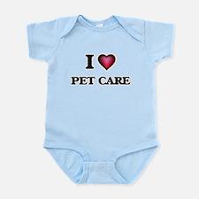I Love Pet Care Body Suit