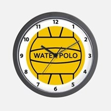 Water Polo Ball Wall Clock