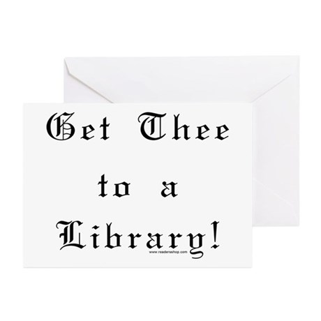 Get Thee Greeting Cards (Pk of 10)