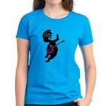 Kokopelli Banjo Women's Dark T-Shirt