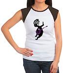 Kokopelli Banjo Women's Cap Sleeve T-Shirt