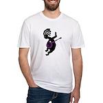 Kokopelli Banjo Fitted T-Shirt