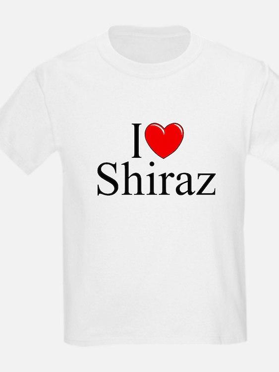"""""""I Love Shiraz"""" T-Shirt"""