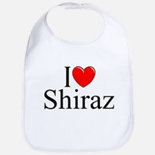 """I Love Shiraz"" Bib"