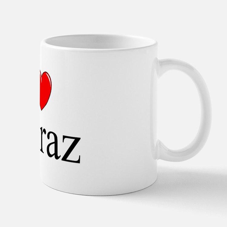 """""""I Love Shiraz"""" Mug"""