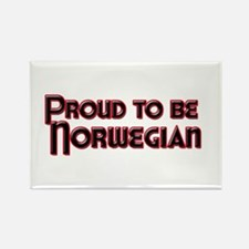 Proud to be Norwegian Magnet