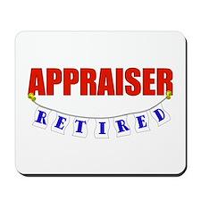 Retired Appraiser Mousepad