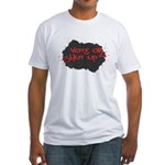 Vote or Shut Up Men's Fitted T Shirt