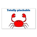 TOTALLY PINCHABLE Rectangle Sticker