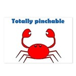 TOTALLY PINCHABLE Postcards (Package of 8)