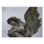 New Orleans historic cemetery Small Poster