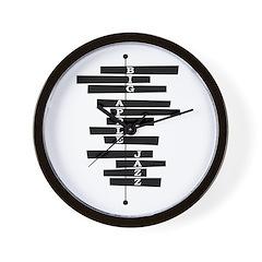 Big Apple Jazz Wall Clock