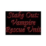 Stake Out: Vampire Rescue Unit Magnet