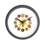 Daylily Time Wall Clock