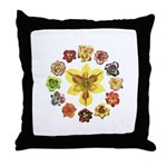 Daylily Time Throw Pillow