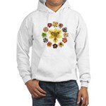 Daylily Time Hooded Sweatshirt