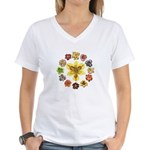 Daylily Time Women's V-Neck T-Shirt