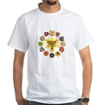 Daylily Time White T-Shirt