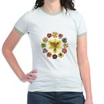 Daylily Time Jr. Ringer T-Shirt