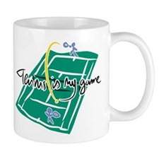 Very cool tennis mug for tennisfans everywhere
