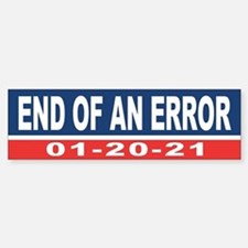 End of an Error 2021 Bumper Car Car Sticker