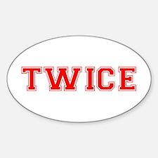 TWICE Bumper Stickers