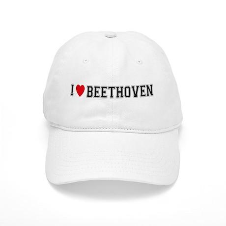 I Love Beethoven Cap