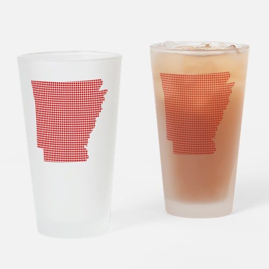 Funny Dot Drinking Glass