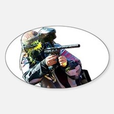 Paintball Wargamer - Euro Oval Decal