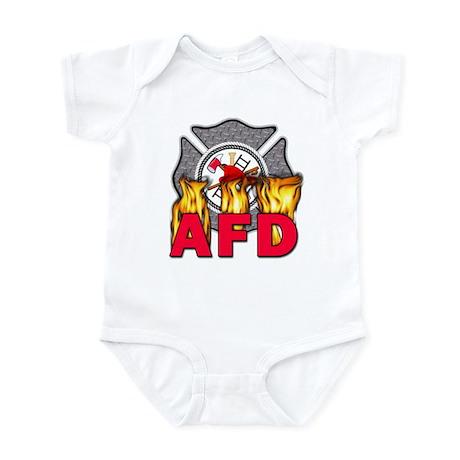 AFD Fire Department Infant Bodysuit