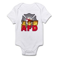 AFD Fire Department Infant Bodysuit