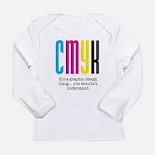 cmyk design thing Long Sleeve T-Shirt