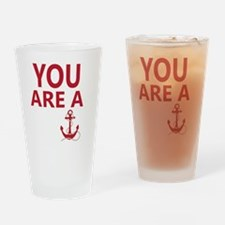Funny British slang Drinking Glass