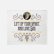 Life Up Your Spirit Throw Blanket