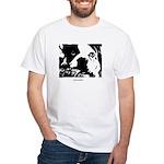 SAD DOG White T-Shirt