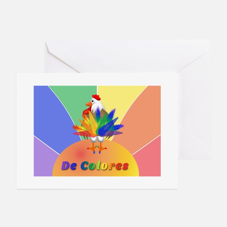 Rooster Tail Greeting Cards