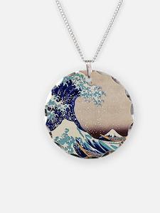 Great Wave Off Kanagawa Necklace