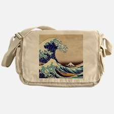 Great Wave Off Kanagawa Messenger Bag