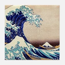 Great Wave Off Kanagawa Tile Coaster