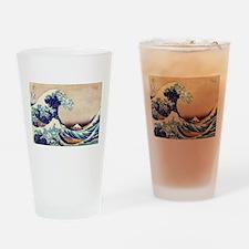 Great Wave Off Kanagawa Drinking Glass