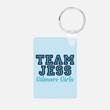 Team Jess GG Aluminum Photo Keychain