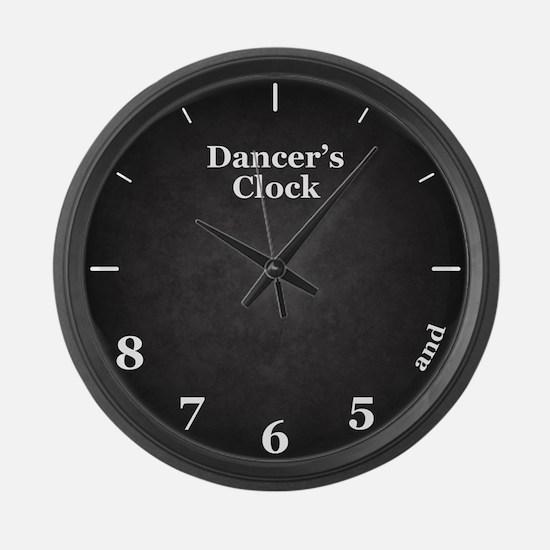 Dancer's Clock Large Wall Clock