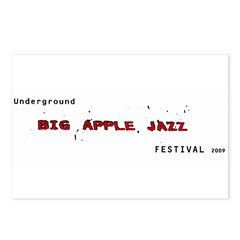 Big Apple Jazz Fest Postcards (Package of 8)