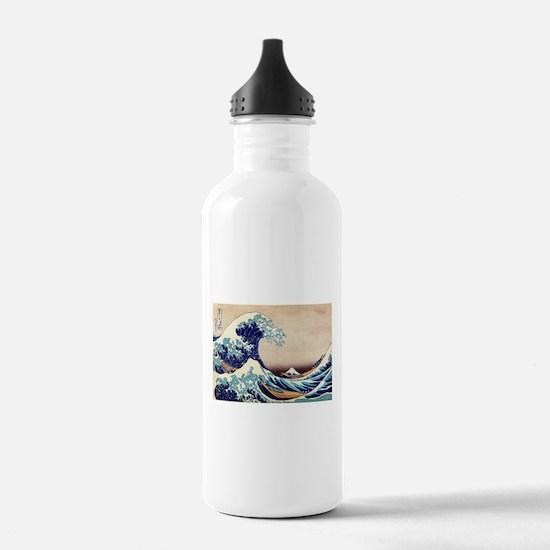 Great Wave Off Kanagaw Water Bottle