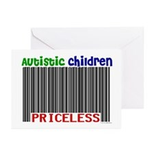 Autistic Children: Priceless Greeting Cards (Pk of