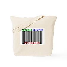 Autistic Children: Priceless Tote Bag