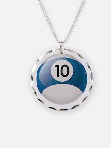 Billiard Pool Ball Necklace