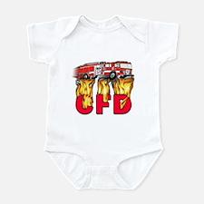 CFD Fire Department Infant Bodysuit
