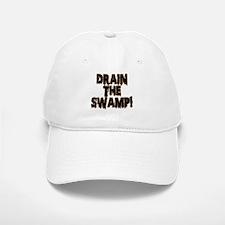 DRAIN THE SWAMP! Baseball Baseball Cap